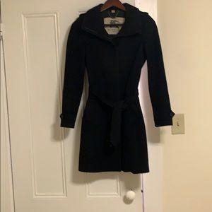 Burberry wool coat. Timeless classic.